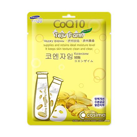 Cosima, Маска для лица Jelu Farm CoQ10, 25 г coq10 для кожи