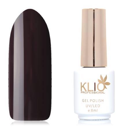Klio Professional, Гель-лак Total Perfection, №49Klio Professional<br>Гель-лак (8 мл) черно-фиолетовый, без перламутра и блесток, плотный.