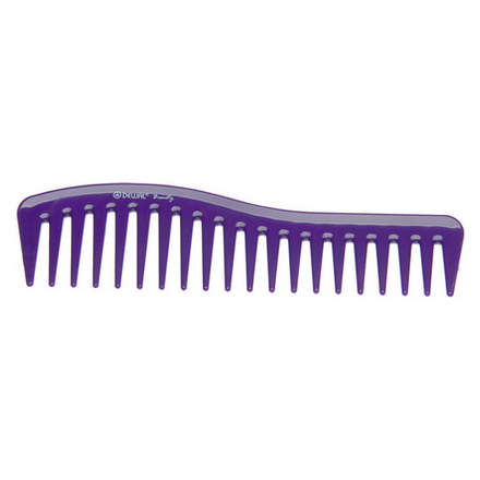Dewal, Гребень «Волна», фиолетовый фото