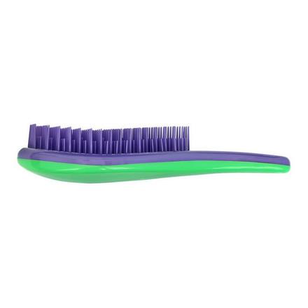 Купить Clarette, Щетка для распутывания волос, фиолетовая с зеленым