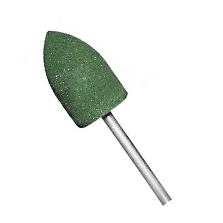 Полировщик силиконовый Н330К, зеленый, жесткий, D=13 ммНасадки<br>Для шлифовки акрила и других мягких материалов.