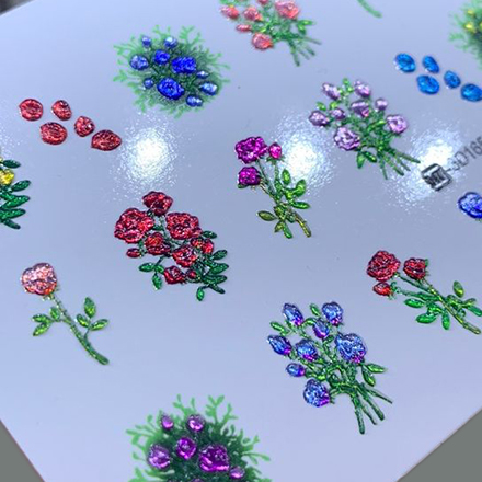 AnnaTkacheva,3D-слайдерCrystalHT№165 «Цветы. Цветочки» фото