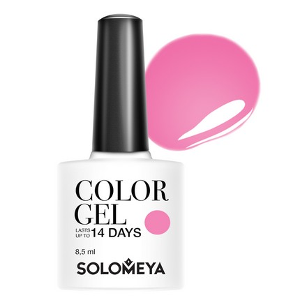 Купить Solomeya, Гель-лак №65, Hot Pink, Розовый