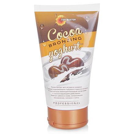 Tan Master, Крем для загара в солярии Cocoa Bronzing Yoghurt, 120 мл