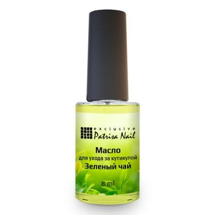 Купить Patrisa Nail, Масло для кутикулы «Зеленый чай», 8 мл