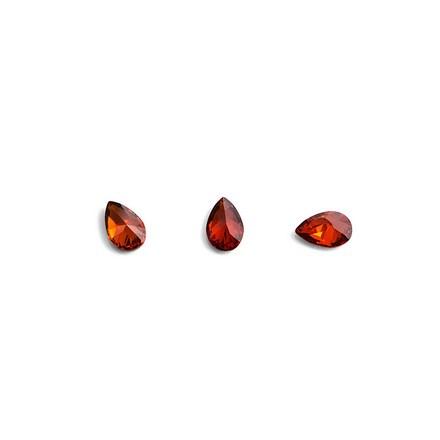 Купить TNL, Кристаллы «Капля» №1, рубиновые, 10 шт., TNL Professional