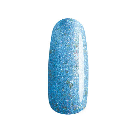 Masura, Лак для ногтей «Золотая коллекция», My precious VMasura<br>Лак (3,5 мл) голубой, с голографическими и золотыми блестками, плотный.