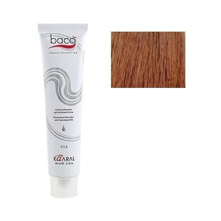 Kaaral, Крем-краска для волос Baco B 7.30Краска для волос<br>Цвет: золотистый блондин. Объем: 100 мл.