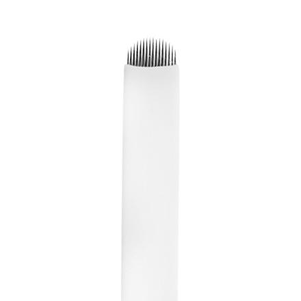 IRISK, Игла одноразовая для татуажа U16, D=0,20 ммПерманентный татуаж бровей<br>Используется для проработки волосков в технике мануального микропигментирования бровей.