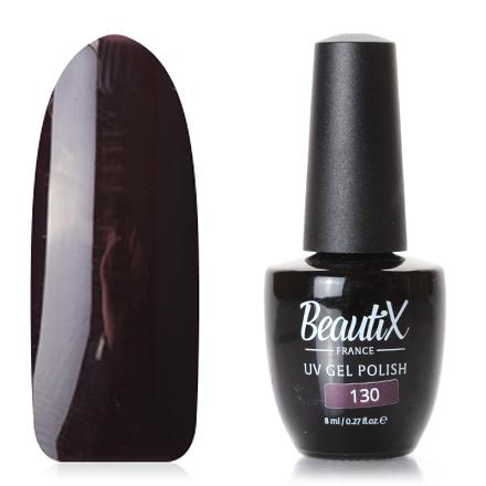 Купить Beautix, Гель-лак №130, Фиолетовый