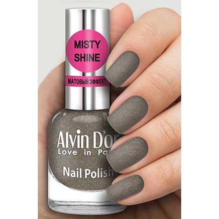 Купить Alvin D`or, Лак Misty shine №509, Alvin D'or, Серый