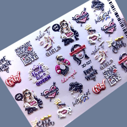 AnnaTkacheva,3D-слайдер№527 «Надписи. Слова» фото