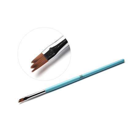 TNL, Кисть для дизайна фигурная «Трезубец», голубая фото