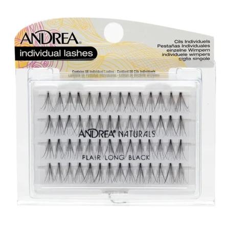 Купить Andrea, Пучки ресниц Perma, безузелковые, длинные, черные
