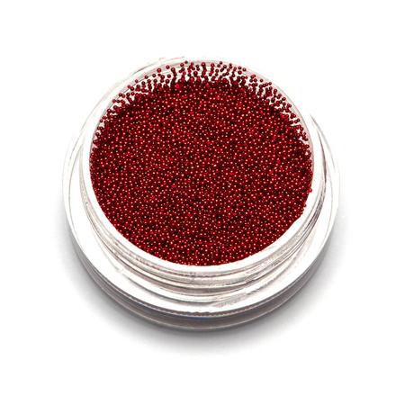 TNL, Бульонки супермелкие, красные, 0,4 ммБульонки<br>Бульонки для декоративного оформления ногтей.<br>