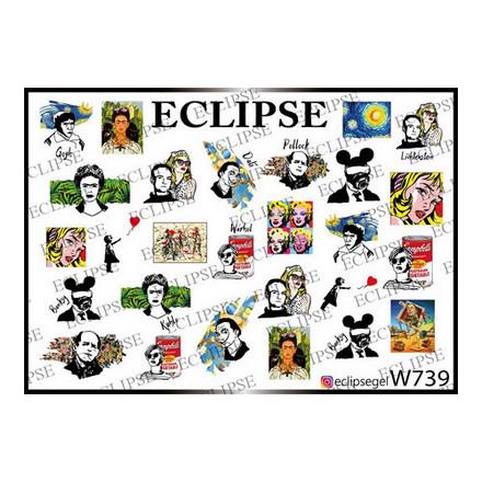 Купить Eclipse, Слайдер-дизайн для ногтей W №739