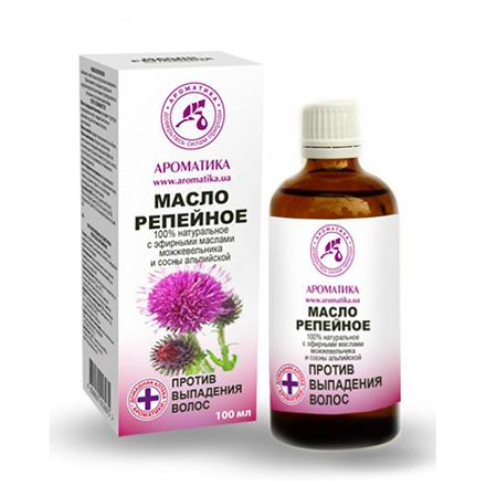 Ароматика, Репейное масло против выпадения волос, 100 мл