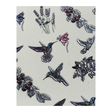 AnnaTkacheva,3D-слайдерCrystal№612 «Птицы. Птички» фото
