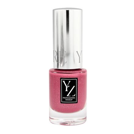 Yllozure, Лак для ногтей Glamour «Праздник» №6285 розового цвета
