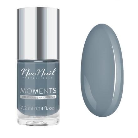 Купить NeoNail, Лак для ногтей Moments №7079-7, Cuddle Me, NeoNail Professional, Синий