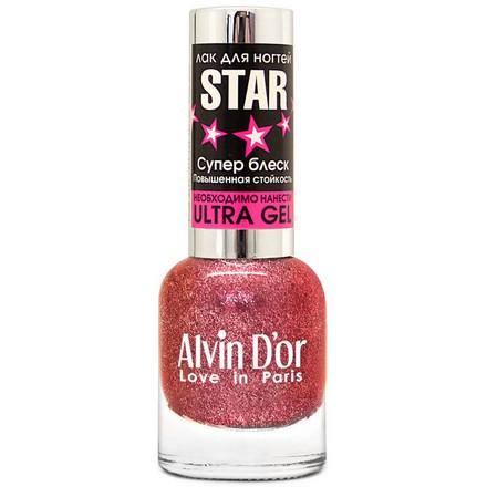 Alvin D'or, Лак Star №6118 розового цвета