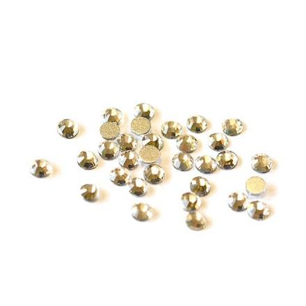 TNL, Стразы 4 мм серебро, 50 шт. (TNL Professional)