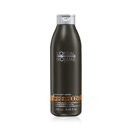 Loreal, Homme Fiberboost Densifying Shampoo, Мужской шампунь, 250 мл (LOreal)