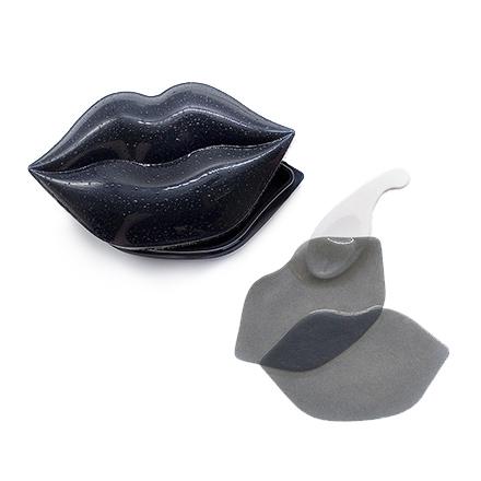 Kocostar, Гидрогелевые патчи для губ, черные, 20 шт. фото