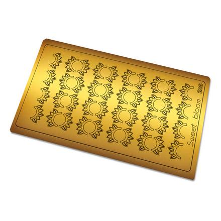 Freedecor, Металлизированные наклейки №226, золото фото
