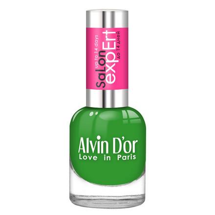 Купить Alvin D'or, Лак Salon Expert №37, Скошенная трава, Зеленый