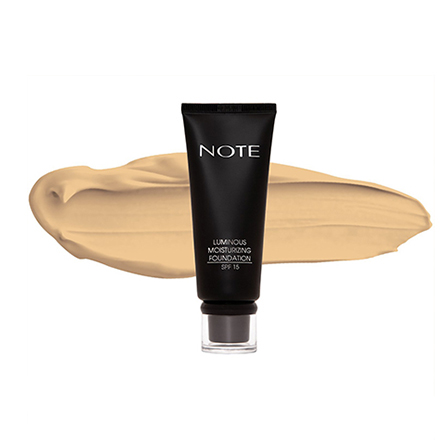 Купить Note, Тональная основа для лица Luminous Moisturizing, тон 02