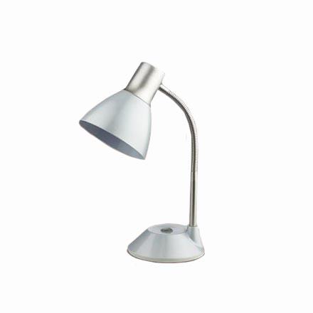 Лампа настольная белый/серебристый