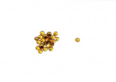 Купить TNL, Стразы 3 мм золото, 50 шт., TNL Professional