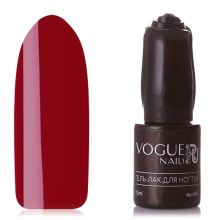 Купить Vogue Nails, Гель-лак Розовый, Красный