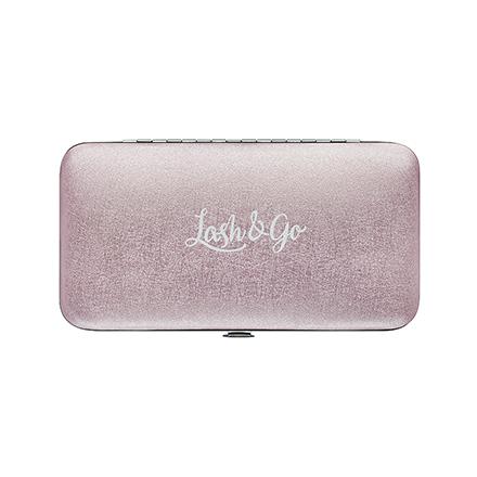 Купить Lash&Go, Магнитный пенал для пинцетов, розовый перламутр