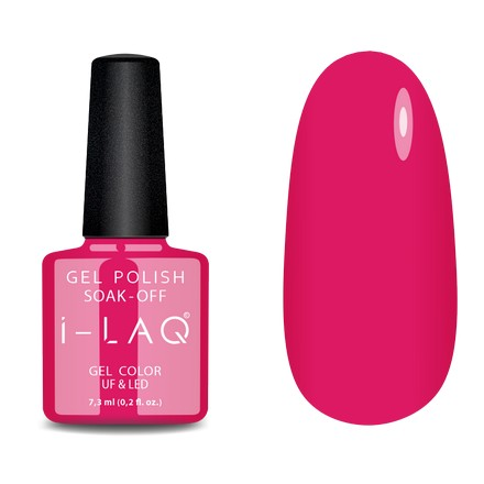 Купить I-LAQ, Гель-лак №076, Розовый