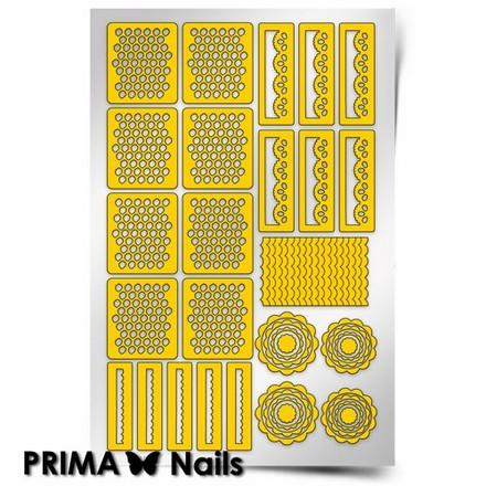 Купить Prima Nails, Трафареты «Кружева»