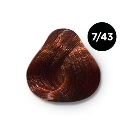 OLLIN, Крем-краска для волос Silk Touch 7/43 фото
