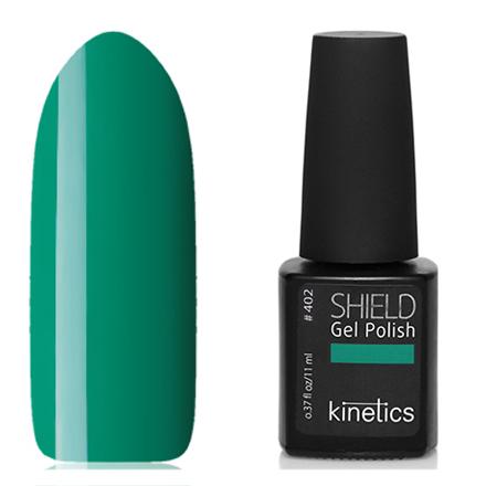 Купить Kinetics, Гель-лак Shield №402, Raw me green, Зеленый