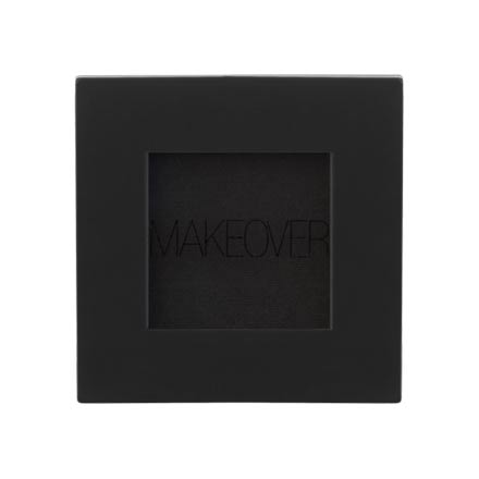 MAKEOVER PARIS, Тени для век Single Eyeshadow, Matte Black