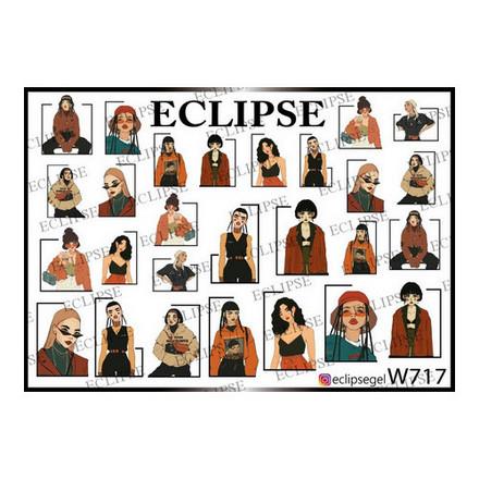 Купить Eclipse, Слайдер-дизайн для ногтей W №717