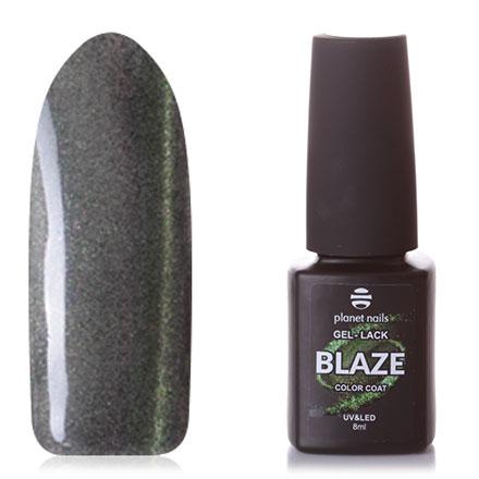 Купить Planet Nails, Гель-лак Blaze №791, Зеленый