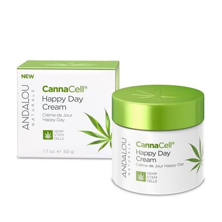 Купить Andalou Naturals, Дневной крем для лица «Стволовые клетки каннабиса», 50 г