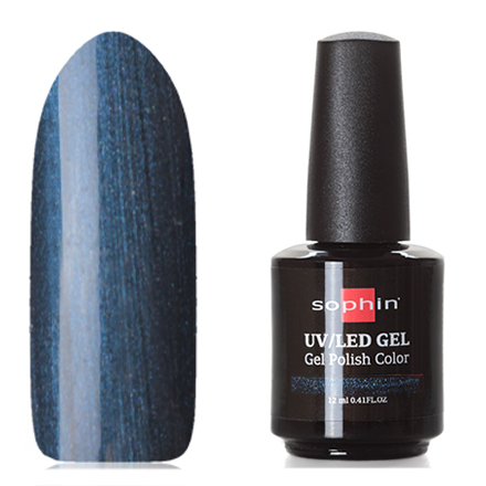 Купить Sophin, Гель-лак №0735, Cosmic Blue, Синий