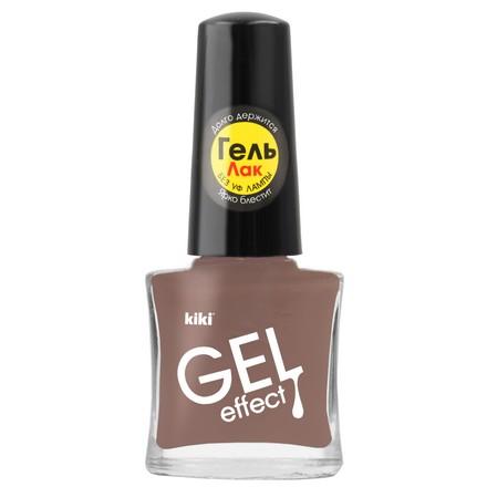 Купить Kiki, Лак для ногтей Gel Effect №068, Коричневый