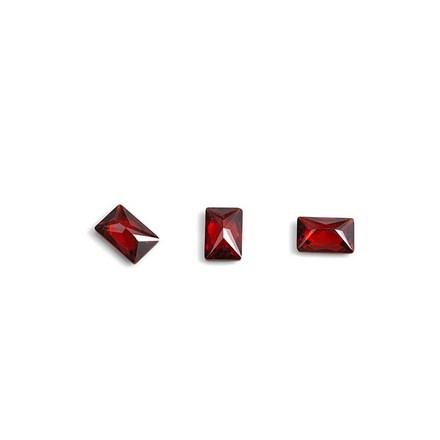 Купить TNL, Кристаллы «Багет» №1, рубиновые, 10 шт., TNL Professional