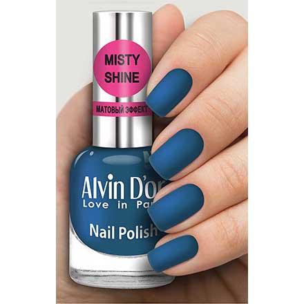 Купить Alvin D`or, Лак Misty shine №520, Alvin D'or, Синий