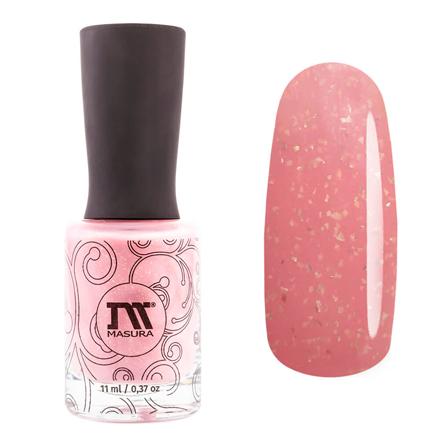 Купить Masura, Лак для ногтей «Золотая коллекция», First love, 11 мл, Розовый