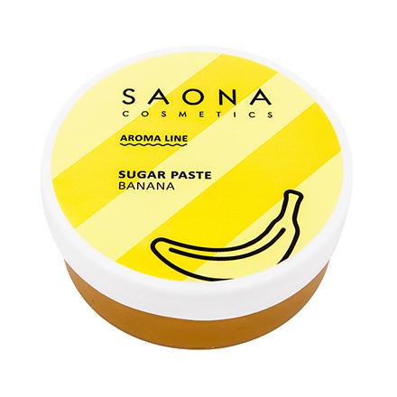Saona Cosmetics, Сахарная паста для депиляции Banana, 200 г