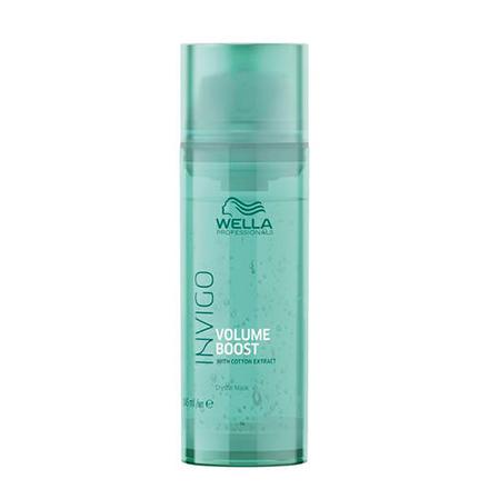 Wella Professionals, Маска для волос Invigo Volume Boost, 145 млМаски для волос <br>Кристалл-маска для уплотнения тонких, лишенных объема волос.